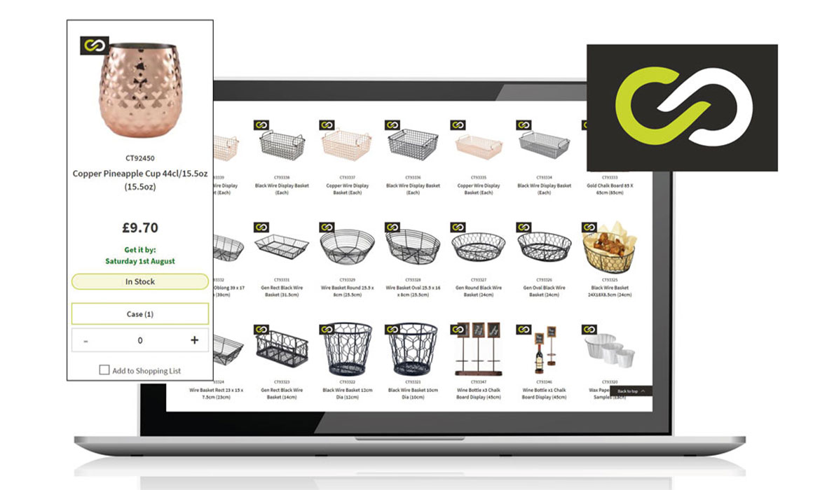 Over 4000 Genware lines added to the Caterite and Grapevine Portfolios.