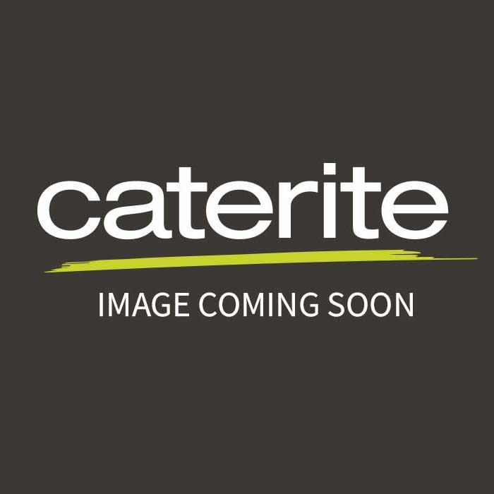 Genware Black Acrylic Buffet Riser 30cm x 8cm