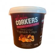 Corkers Vegetable Crisps
