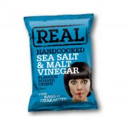 Real Crisps Sea Salt & Malt Vinegar