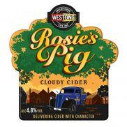 Westons Rosies Pig 4.8% Bib